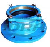 Фланцевый адаптер 110 переход пластик-сталь DN100 (ПЭ 110) UR-51 аналог ЕСТЬ НА ЧУГУН
